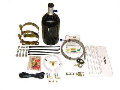 Nitrous Oxide EFI Motorcycle Kit 2.5LB Bottle drag bike nitrous kit zx-14 NOS - Efi Nitrous Kit
