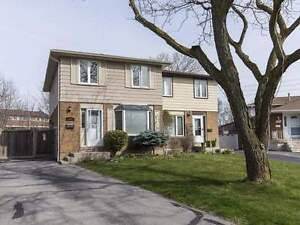2-Storey Semi-Detached 3 Br Home w/ Fin Bsmnt in Clarkson