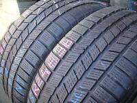 255/50/19 Pirelli Ice&Snow M+S Winter, XL x2 A Pair, 5.5mm (168 High Road, Romford, RM6 6LU) Used