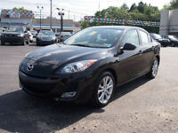 2011  MAZDA 3  AUTOMATIC BLACK ON BLACK INSPECTED
