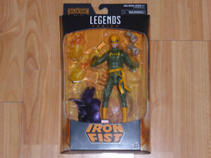 MARVEL LEGENDS IRON FIST DR STRANGE INFINITE DORMAMMU SERIES MIB