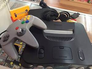 Nintendo 64 Console,Leads & 1 controller plus 40 Days Warranty Armadale Armadale Area Preview