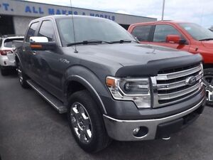 2014 Ford F-150 LARIAT 4X4 LEATHER NAVI SUNROOF