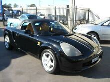 2000 Toyota Mr2 ZZW30R Spyder Black 5 Speed Sequential Manual Convertible Cambridge Park Penrith Area Preview