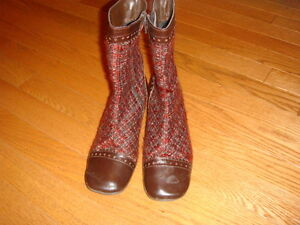 Retro Style Ankle Boots