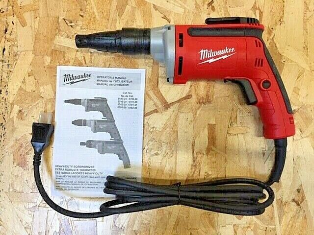 Milwaukee Drywall Screwdriver, 0-4000 RPM - 120 V AC AC Supp