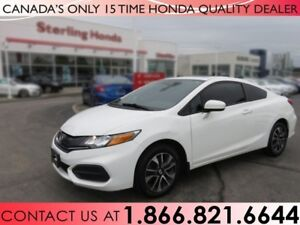 2014 Honda Civic Coupe EX | COUPE | 1 OWNER | TINT