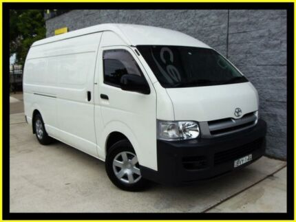 2005 Toyota Hiace KDH200R SLWB White 4 Speed Automatic Van Penrith Penrith Area Preview