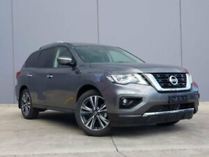 2019 Nissan Pathfinder R52 Series III MY19 Ti X-tronic 2WD Grey 1 Speed Constant Variable Wagon Berwick Casey Area Preview