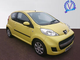 PEUGEOT 107 1.0 Urban 3dr 2-Tronic (yellow) 2009