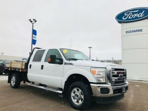 2015 Ford Super Duty F-350 SRW XLT, 8.5'x7' Deck, 6.2L V8, Tow P