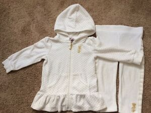Juicy Couture Glitter Dot Velour Tracksuit, size 12-18 M