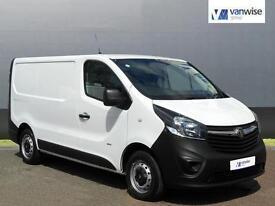 2014 Vauxhall Vivaro 2900 L1H1 CDTI P/V Diesel white Manual