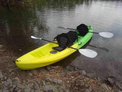 Freak 2+1 Double Agent Kayak,seats, paddles,trolley, life jackets Karalee Ipswich City Preview