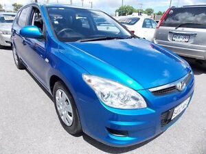 2009 Hyundai i30 FD MY09 SX Blue 4 Speed Automatic Hatchback Enfield Port Adelaide Area Preview