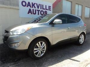 2012 Hyundai Tucson LEATHER PANORAMIC ROOF Limited SAFETY INCL