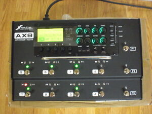 Fractal AX8, Mint Condition, Carry Case, 2 packs of IRs, adapter