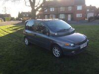 Fiat multipla 2004, mot June. Drives fantastic. 1.9jtd