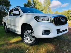 2019 LDV T60 MY17 Pro (4x4) Blanc White 6 Speed Direct Shift Double Cab Utility Kenwick Gosnells Area Preview
