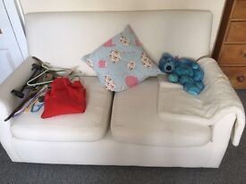 small settees x 2
