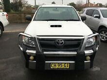 2005 Toyota Hilux KUN26R SR (4x4) White 5 Speed Manual Dual Cab Chassis Young Young Area Preview