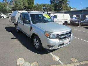 2009 Ford Ranger PK XL Crew Cab 4x2 Silver 5 Speed Automatic Utility Maroochydore Maroochydore Area Preview
