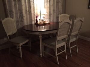 Vintage re-done table and chairs