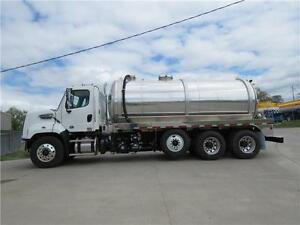 PROGRESS TANK Aluminum 4200-Gallon Vacuum Truck