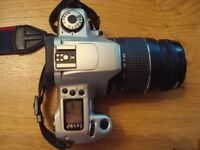 Canon EOS 300 35mm SLR Film Camera with 28/80 Zoom Lens