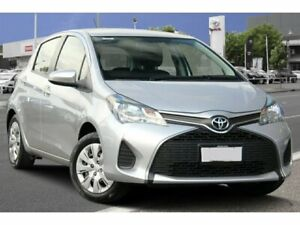 2016 Toyota Yaris NCP130R Ascent Silver Pearl 4 Speed Automatic Hatchback Adelaide CBD Adelaide City Preview