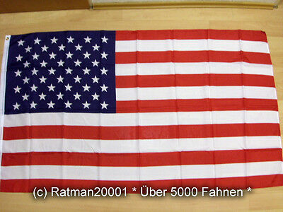 Fahnen Flagge USA Sonderposten - 90 x 150 cm