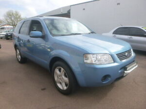 2005 FORD TERRITORY TS, 7 SEATER, RWD, 4 SPEED AUTO, ICON BLUE COLOUR, BEAUT CARS Belmont Lake Macquarie Area Preview