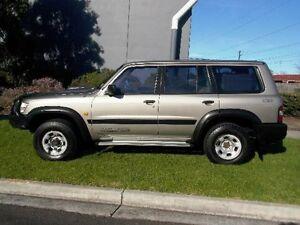 2000 Nissan Patrol GU II ST (4x4) Gold 5 Speed Manual 4x4 Wagon Melbourne CBD Melbourne City Preview
