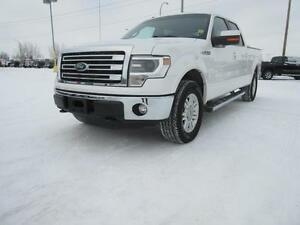 2014 Ford F-150 Lariat NO INSURANCE CLAIMS & CERTIFIED PRE OWNED