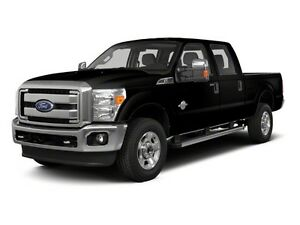 2013 Ford Super Duty F-350 SRW 4x4 Crew Cab Pickup/