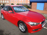 62 BMW 320D 163 BHP EFFICIENTDYNAMICS 4 DOOR DIESEL £20 A YEAR ROAD TAX