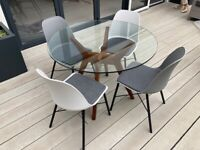 Table and chairs from John Lewis