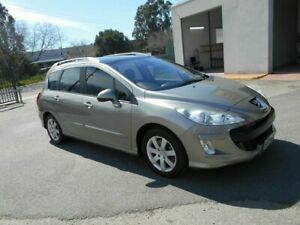 2009 Peugeot 308 Touring XS HDi 2.0 Fawn 6 Speed Automatic Wagon Woodville Charles Sturt Area Preview