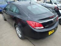 VAUXHALL INSIGNIA REAR BUMPER BLACK BREAKING SPARES PARTS ASK