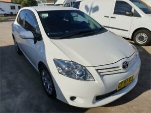 2010 Toyota Corolla ZRE152R MY10 Ascent White 4 Speed Automatic Hatchback Granville Parramatta Area Preview