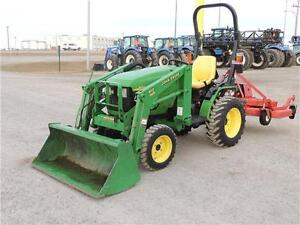 2005 John Deere 4010 - 18.5hp, hydrostatic, loader & bucket