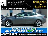 2013 Dodge Dart SXT $109 BI-WEEKLY APPLY NOW DRIVE NOW