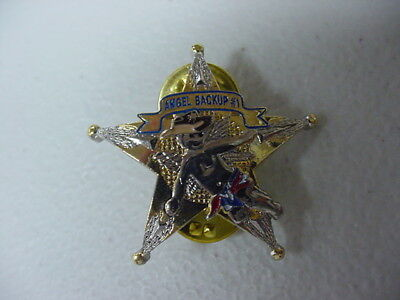 NATIONAL POLICE WEEK*BACK UP ANGEL*PIN*BRAND NEW