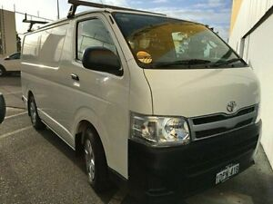 2010 Toyota Hiace KDH201R MY11 LWB White 5 Speed Manual Van Edgewater Joondalup Area Preview