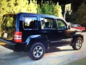 08 JEEP Liberty 4x4 Navy Blue - Low km-Excellent Condition!