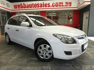 2011 Hyundai i30 FD MY11 SX White Automatic Wagon Welshpool Canning Area Preview