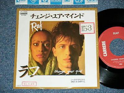 "RAF Japan 1984 PROMO  NM 7""45 CHANGE YOUR MID"