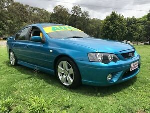 2007 Ford Falcon BF MkII XR6 Blue 6 Speed Auto Seq Sportshift Sedan Clontarf Redcliffe Area Preview