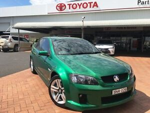 2010 Holden Commodore VE MY10 SV6 Green 6 Speed Automatic Sedan Dubbo Dubbo Area Preview