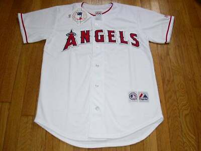 Los Angeles Angels White Home Jersey w/Tags  Size XL